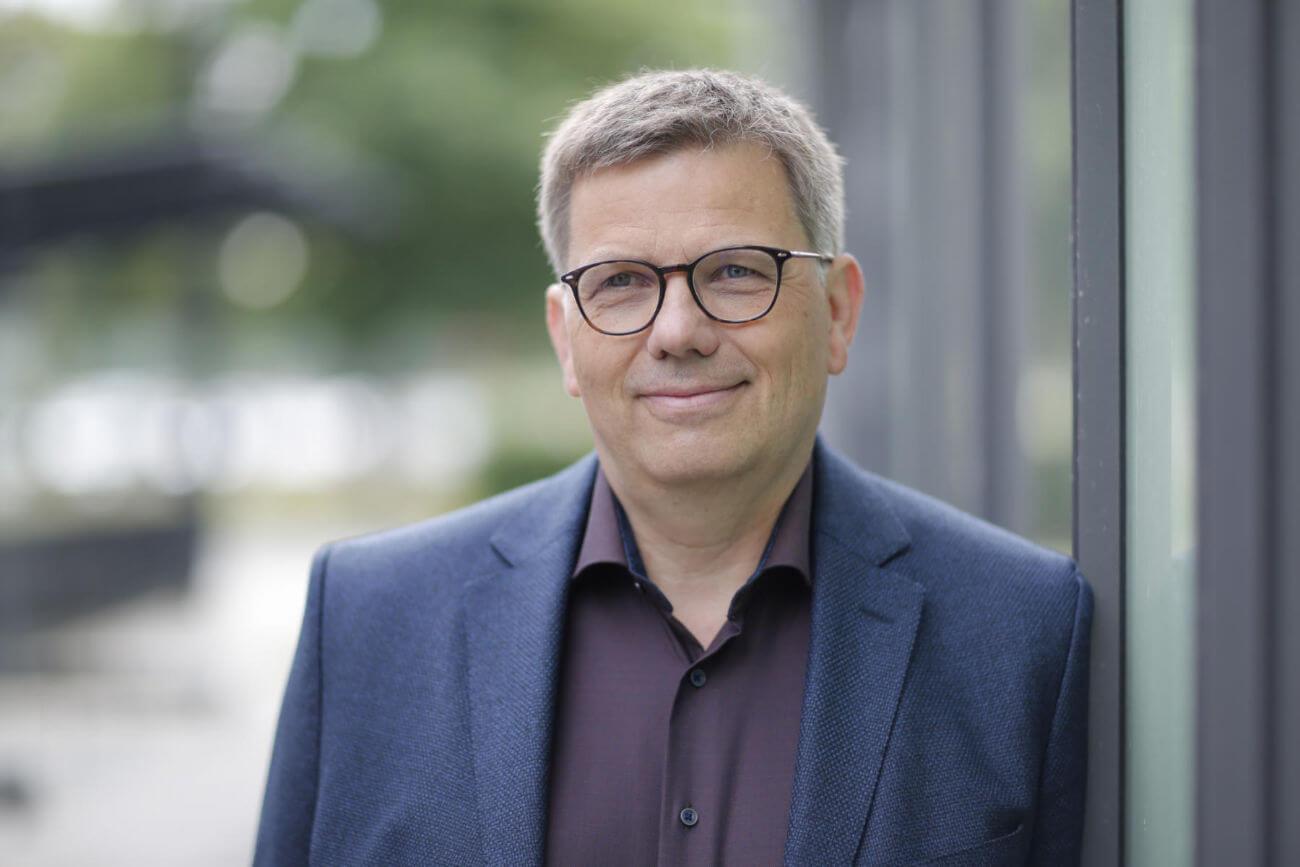 Oberbürgermeisterkandidat Frank-Tilo Becher